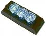 Blitzer blau 3 LED, 12/24 V