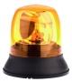 LED-Kennleuchte 151 mm, gelb, mit Dreipunkt-Befestigung, 12/24 V